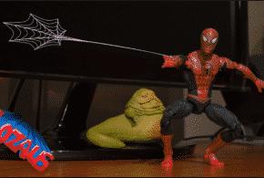 I mini-film di Spiderman giocattolo sul canale Youtube Lozaus